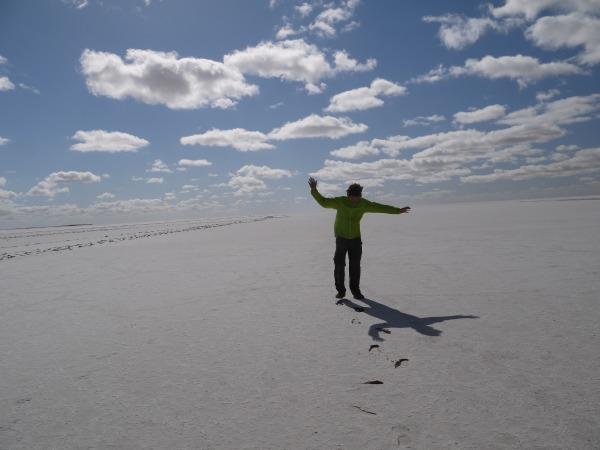 Walking on Lake Eyre