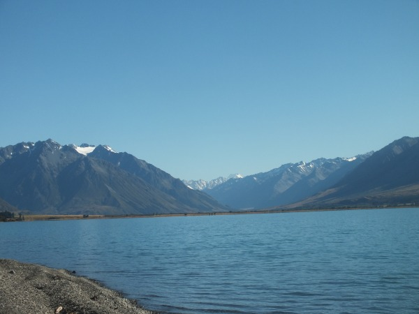 Mount Cook view from Lake Ohau rd