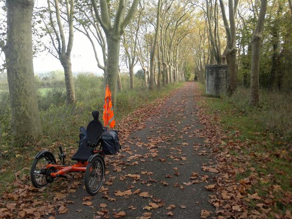 Canal de Bourgogne en automne